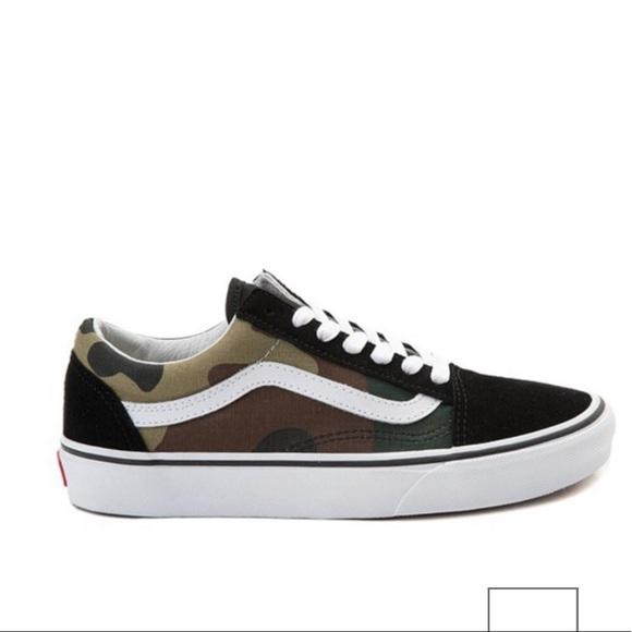 Vans Shoes | Old Skool Skate Shoe Black
